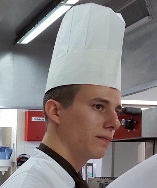 Koch des Monats – Dominic Gysin